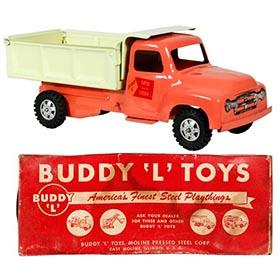 1957 Buddy L #5512 Sand & Stone Dump Truck in Original Box