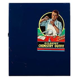 1950 Gilbert, No.2 Chemistry Outfit in Original Box