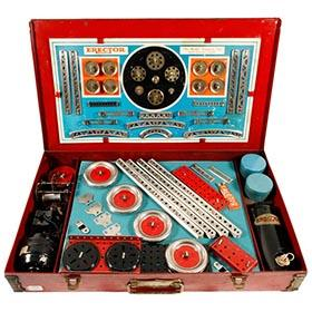 1934 Gilbert, Erector Set No. 7 in Original Box