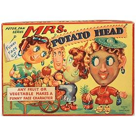 c.1954 England, Mrs. Potato Head in Original Box