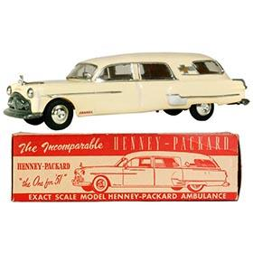 1951 AMT Henney-Packard Hearse/Ambulance in Original Box