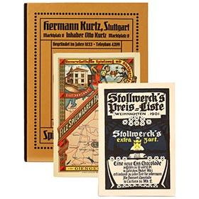 Three Antique German Toy Catalogs (Reproductions)