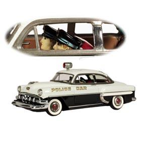 1954 Marusan, Chevrolet 2dr. Sedan Stop-Go Police Car w/Siren & Light