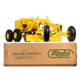 1949 Doepke #2006 Adams Road Grader in Original Box