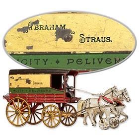 1903 Harris, Abraham & Strauss City Delivery Wagon