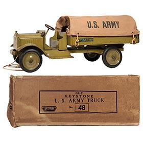 1927 Keystone, No.48 Packard U.S. Army Truck in Original Box