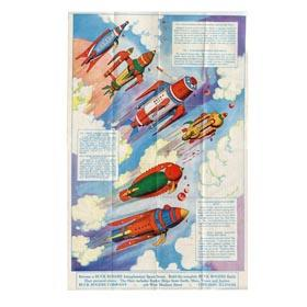 1934 Buck Rogers Rocket Ship Model Instructions (Full Color)