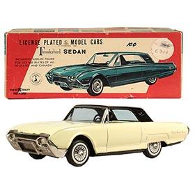 1962 Bandai, Ford Thunderbird 2-door Hardtop in Original Box