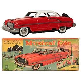 1956 Sankei Nash Ambassador Musical Car in Original Box