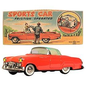 1955 Nomura, Sports Car (Ford Thunderbird) in Original Box