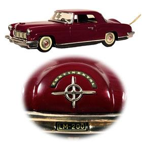 1956 Linemar Lincoln Continental Mark II (Rare Maroon Version)
