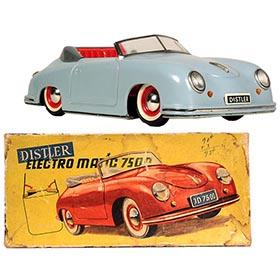 1953 Distler, Porsche Speedster Electromatic 750 in Original Box