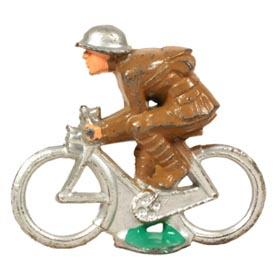 c.1939 Manoil, No.50 Bicycle Despatch Rider