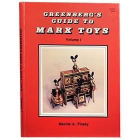 1988 Greenberg's Guide To Marx Toys, Volume 1, 1st Edition. 143pgs.