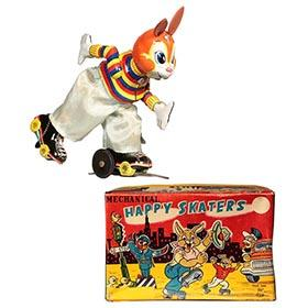 c.1958 TPS, Happy Skaters (Skating Rabbit) in Original Box