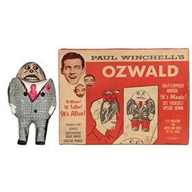 1961 Ozwald, Paul Winchell's Upside-Down Man in Original Box