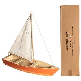c.1930 Jacrim (Keystone), No. 221 Dory in Original Box