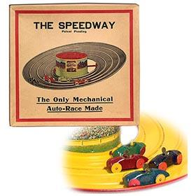 "1925 McDowell Mfg. Co., ""The Speedway"" in Original Box"