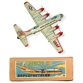 c.1951 Yonezawa Boeing B-50 Superfortress in Original Box