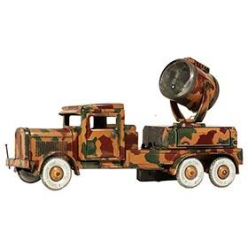 c.1936 Tipp & Co., Camouflaged Searchlight Truck