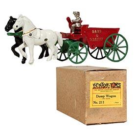 1950 Kenton, No. 211 Dump Wagon in Original Box