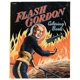 1952 Whitman, Flash Gordon Coloring Book