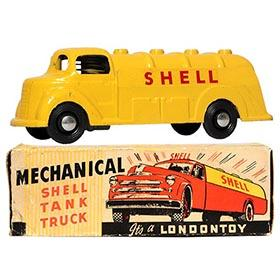 c.1947 Londontoy, No.53 Shell Oil Tanker Truck in Original Box