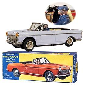 c.1961 Joustra Peugeot 404 Cabriolet in Original Box