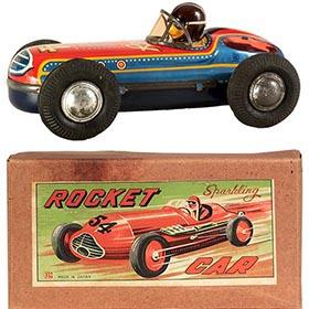 c.1955 Bandai, Rocket Car #54 in Original Box