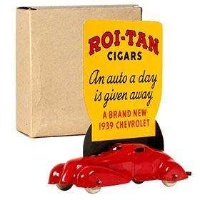 1939 Wyandotte, Sophie Tucker Roi-Tan Cigar Advertisement Coupe in Original Box