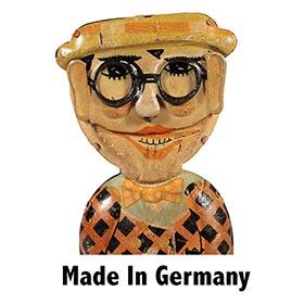 c.1928 Distler (?) Funny Face Harold Lloyd Mechanical Walker