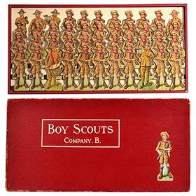 c.1915 McLoughlin, Boy Scouts Company B in Original Box