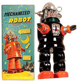 c.1956 Nomura, Mechanized (Robby) Robot in Original Box