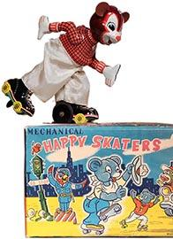 c.1958 TPS, Happy Skaters (Skating Bear) in Original Box