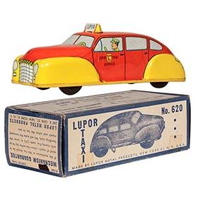 c.1947 Lupor, No.620 Mechanical Taxi in Original Box