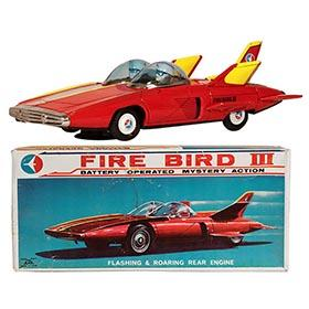 1962 Alps, Red Fire Bird III in Original Box