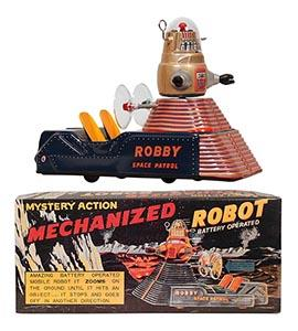 1993 MTH, Robby Space Patrol (Mechanized Robot) in Original Box