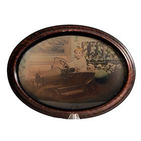 1926 American National Pedal Car Photo in Original Frame