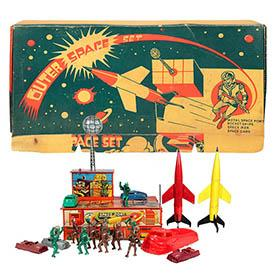 c.1950 Archer, Outer Space Set in Original Box