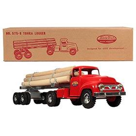 1956 Tonka, No.575-6 Logger (Logging) Truck in Original Box