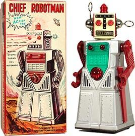 1962 Yoshiya, Chief Robotman in Original Box