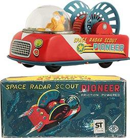 1963 Masudaya, Space Radar Scout Pioneer in Original Box