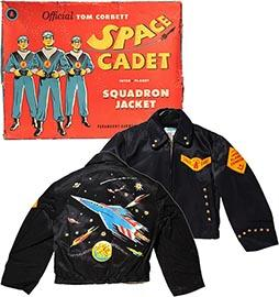 c.1952 Tom Corbett Space Cadet Inter-Planet Squadron Jacket in Original Box