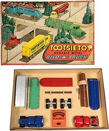 c.1955 Tootsietoy, No. 7600 Bild-A-Truck Set in Original Box
