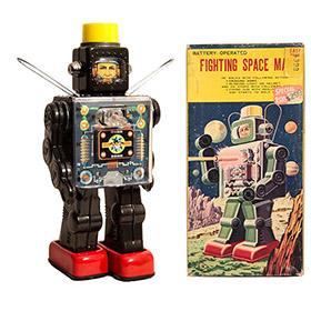 1968 Horikawa, Fighting Space Man Robot in Original Box