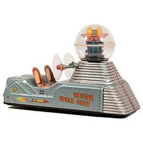 1958 Nomura, Battery Operated Moon Car Space Ship