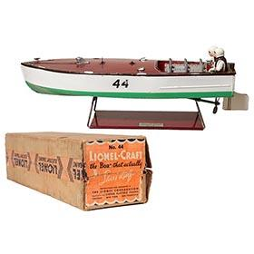 1936 Lionel, #44 Speed Boat in Original Box