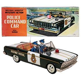 c.1963 Nomura-Shinkosa Datsun Cedric, Police Command Car in Original Box