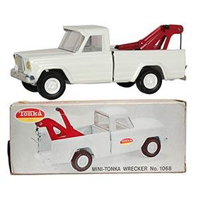 1970 Tonka, No.1068 Mini-Tonka Wrecker in Original Box
