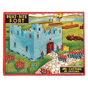 1936 Built Rite Fort in Original Box